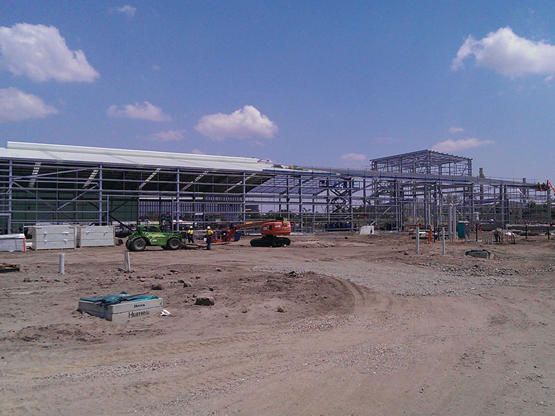 Aluminium Wire Manufacturing Facility